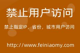 Z-blog墨初網站禁止訪問插件